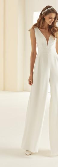 Bianco Evento Bridal Jumpsuit Celeste