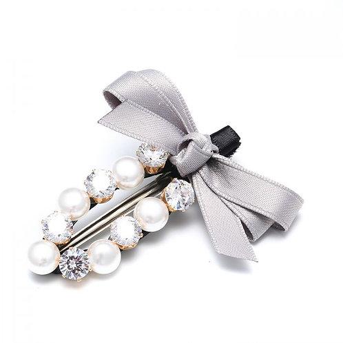 Pearl & Diamante Hair Clip