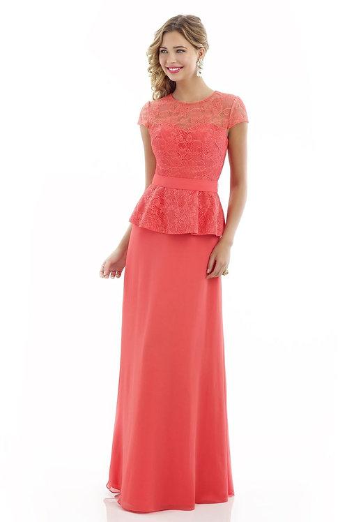 Chiffon and Lace A-Line Bridesmaid Dress