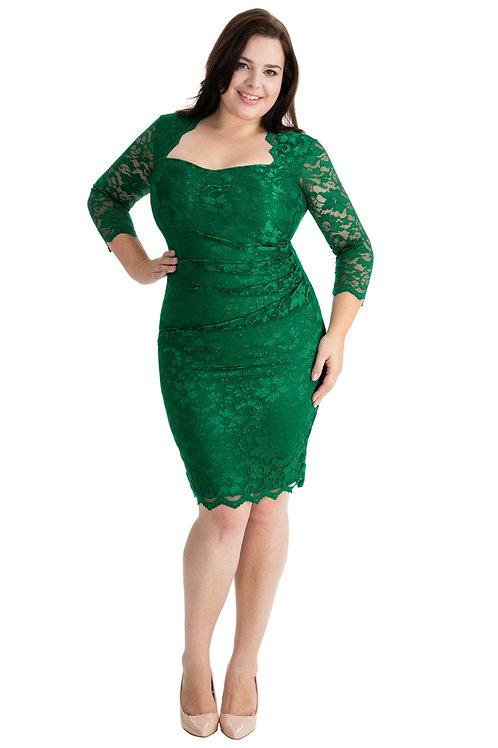 Plus Size Lace Occasion Dress