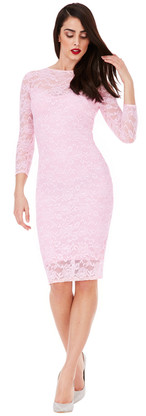 City Goddess Lace Dress