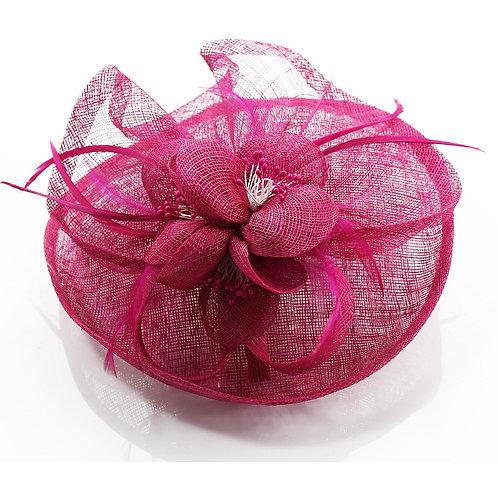 Fuchsia Hat Fascinator