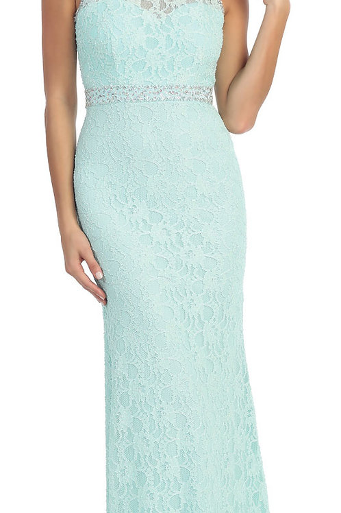 Lace Bridesmaid's, Prom or Formal Dress