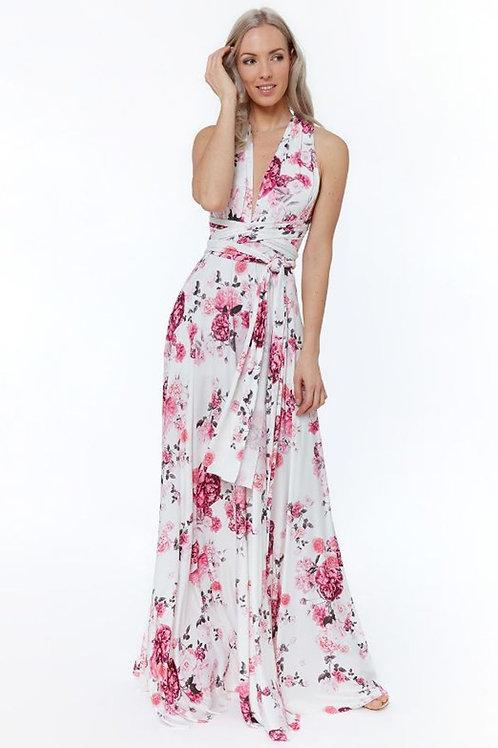 Floral Multi-Way Dress