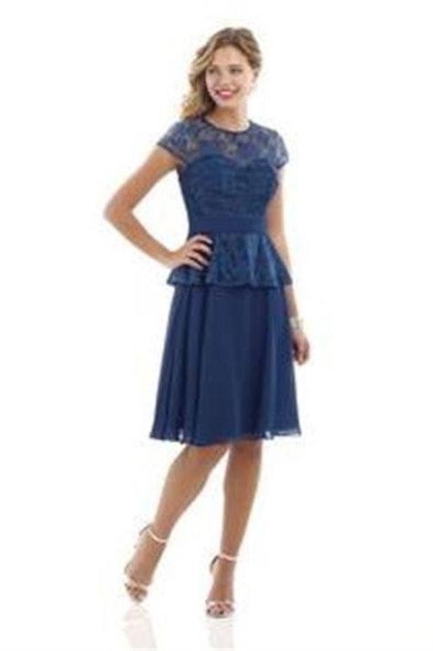 Chiffon and Lace Occasion Dress