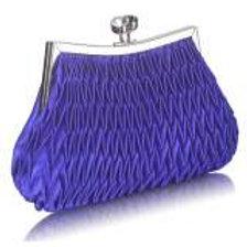 Ruched Clutch Bag