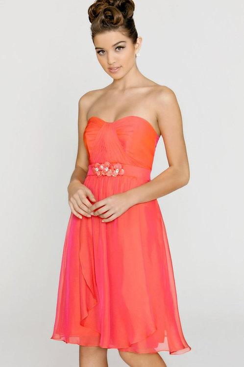 Iridescent Shimmer Cocktail Dress