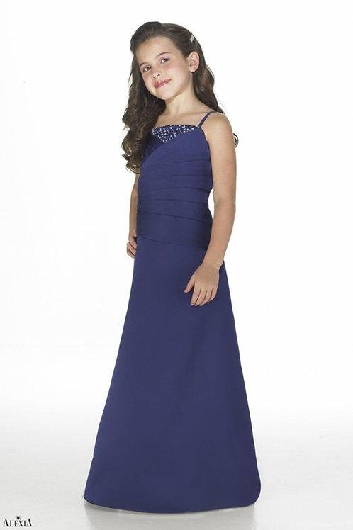 Junior Satin Bridesmaid Dress