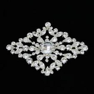 Diamond Shape Brooch