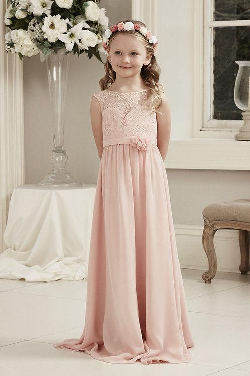 Junior Chiffon Bridesmaid Dress