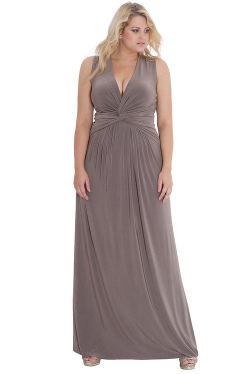 Plus Size Jersey Maxi Dress