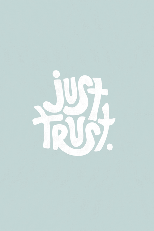 Just Trust - Seafoam