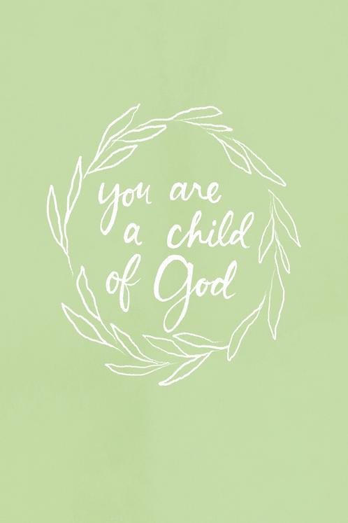 Child of God - Spring Green