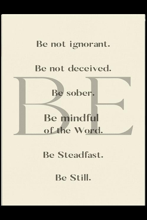 Be Steadfast - Butter