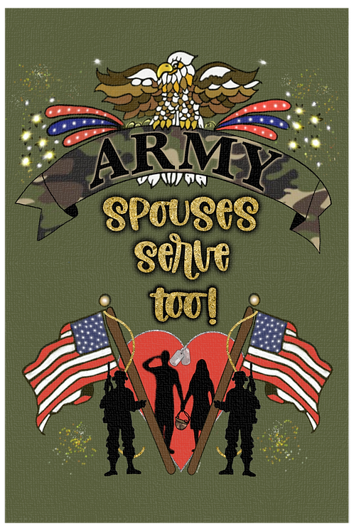 Army Spouses Serve Too! - Male