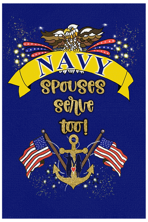 Navy Spouses Serve Too! - Male