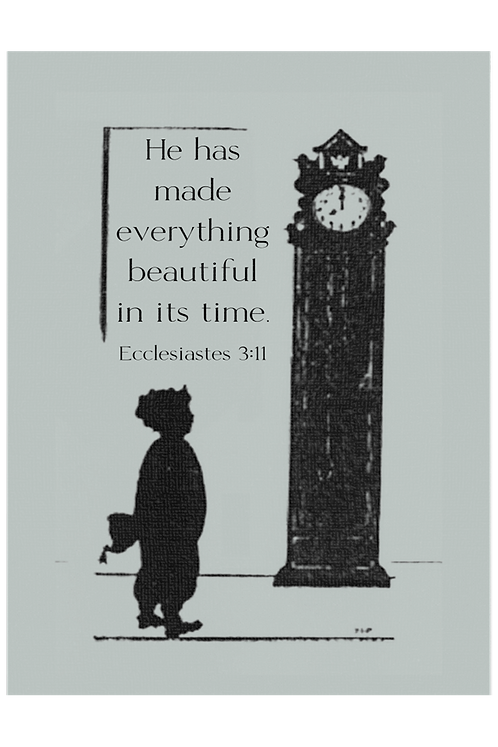 Everything Beautiful In It's Time