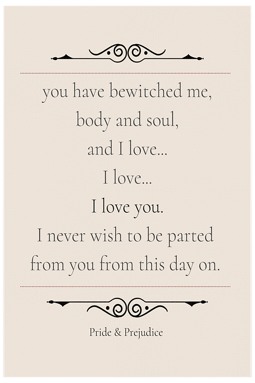 You Have Bewitched Me Body and Soul Blush
