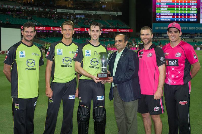 Sydney Thunder take out second BFC Cup