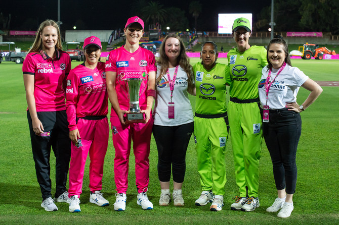 Sixers take out the inaugural WBBL Batting for Change Cup