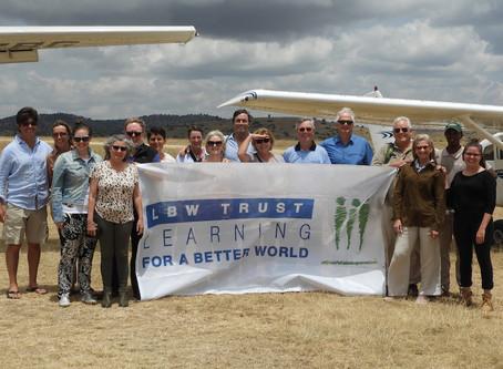 LBW Trust visits the Kakenya Center for Excellence in Kenya