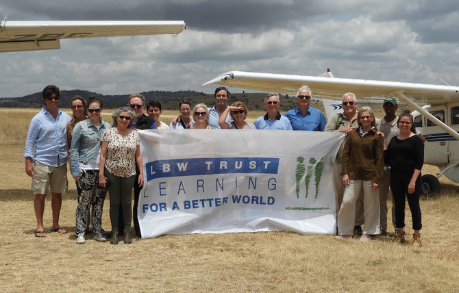 LBW Trust visits the Kakenya Center for Excellence in Kenya