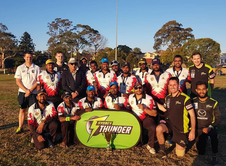 """Sydney Thunder host All Nations Social Cricket """"Don't Give Up, Give Back"""" event"""