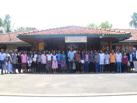 Batting for Change students begin university; brand new computer centres for Sri Lanka