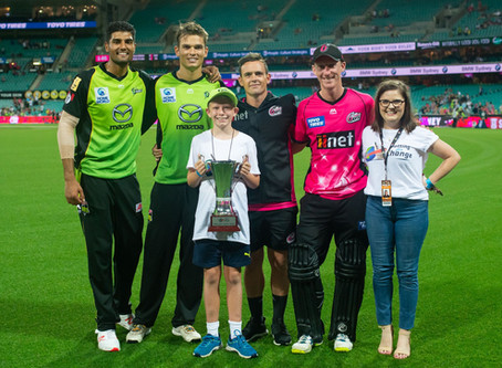 Sydney Sixers win the Batting for Change Cup
