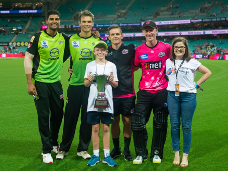 Sydney Sixers win the BFC Cup