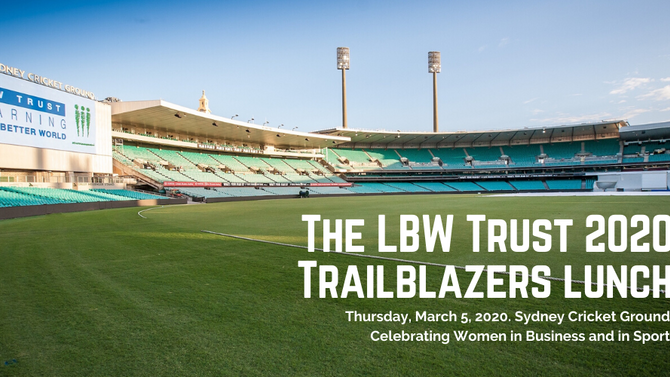 Your invitation to our 2020 Trailblazers lunch