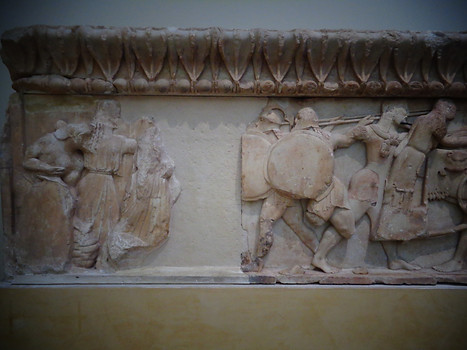 Siphnian Treasury, North Frieze
