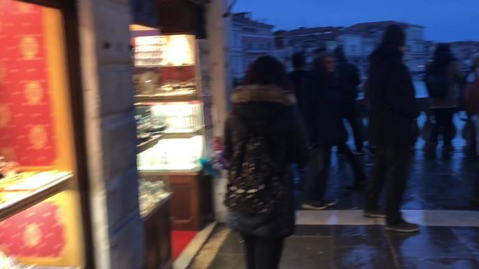 Walking Across the Rialto