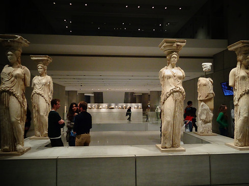 'The 6th Caryatid is STILL in the British Museum...'