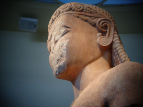 Sounion Kouros, Early Archaic