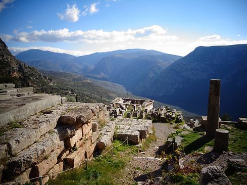 Temple of Apollo, Dephi