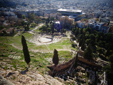 Theatre of Dionysus, from the Acropolis