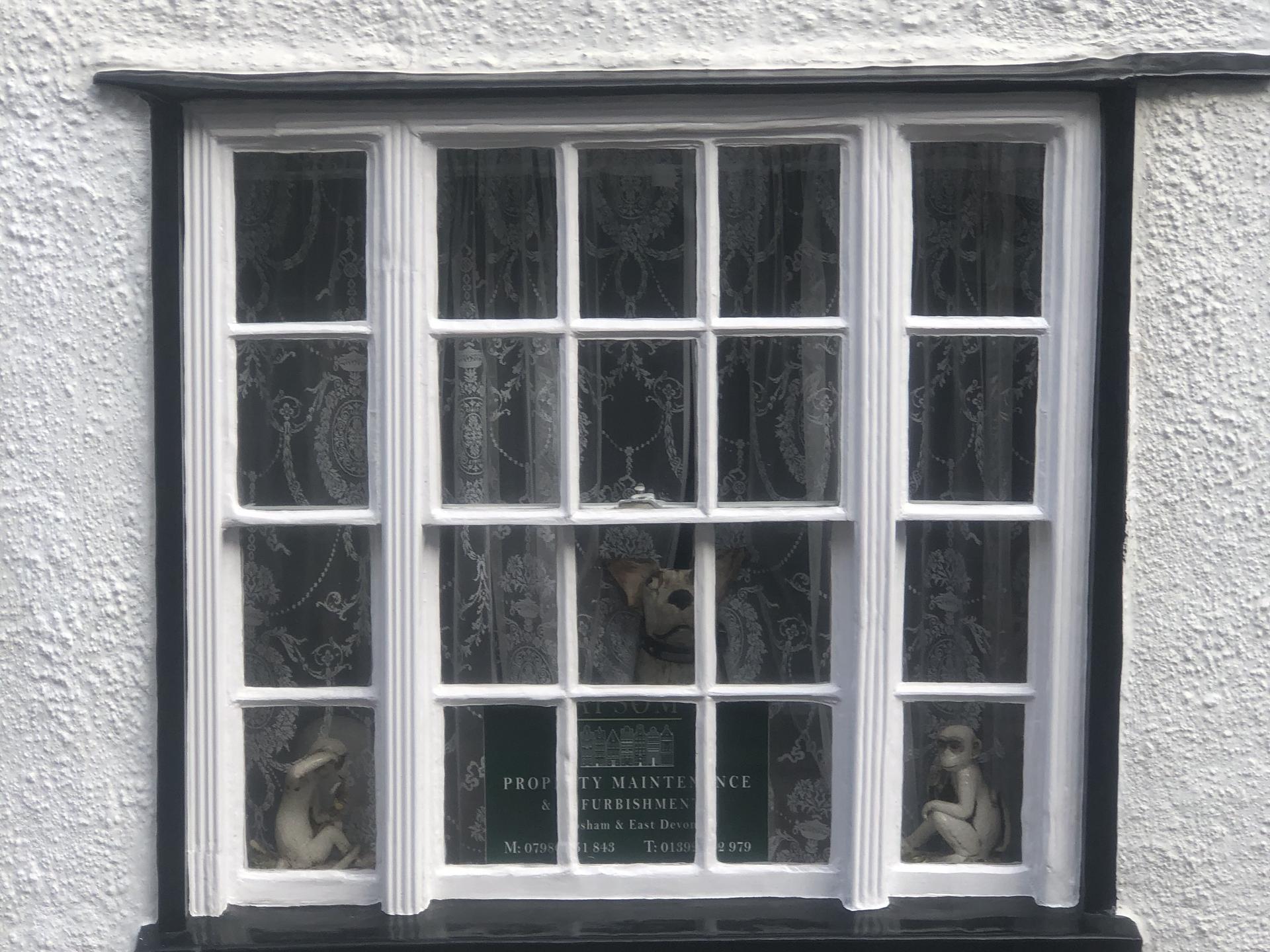 Restored sash window topsham