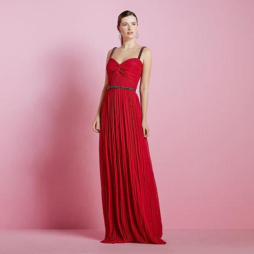 vestido longo tarquinado
