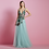 Thumbnail: Vestido longo barbatana flores