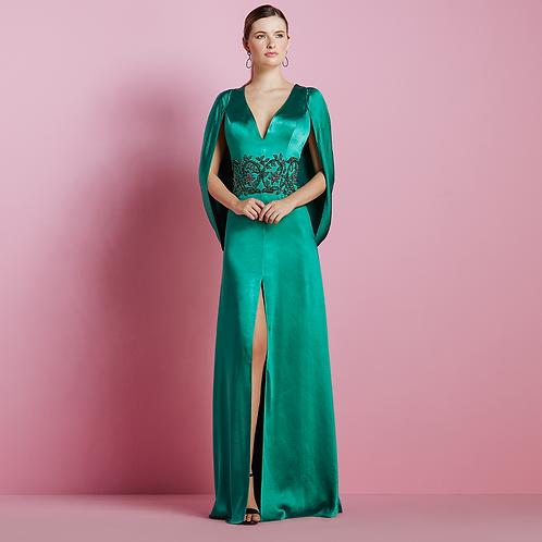 Vestido longo Magestic bordado