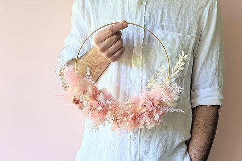 Everlasting Wreath | Pink Hoop