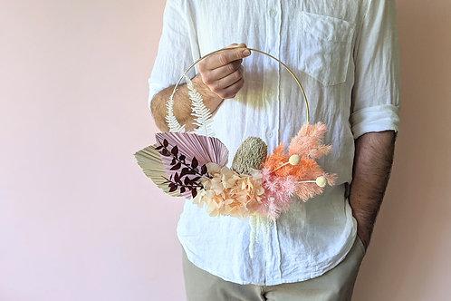 Everlasting Wreath | Peachy Hoop