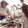 The House of Palms mobile flower crown w