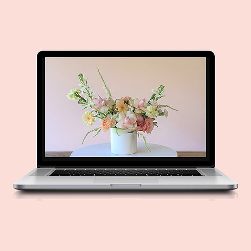 Virtual Workshop   Fresh Flower Arranging