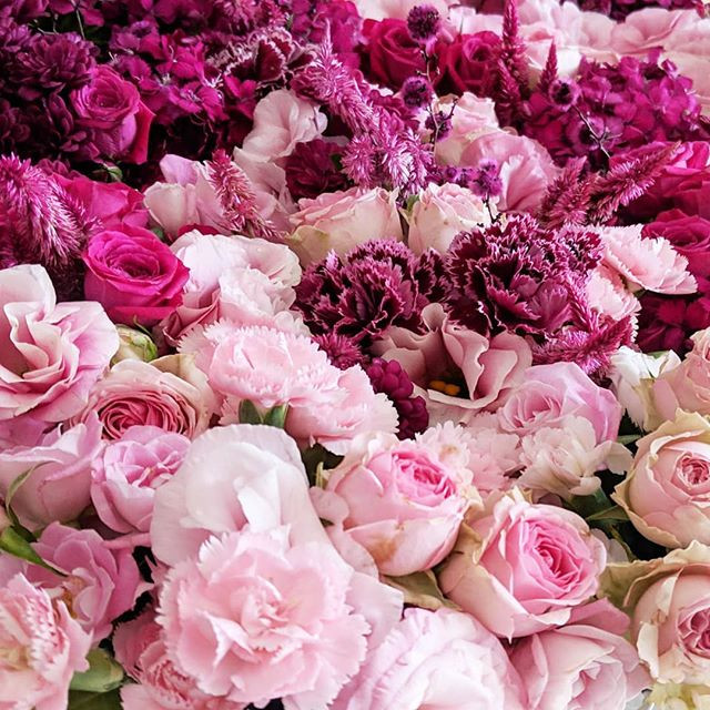 When the client asks for pinks... #flowe