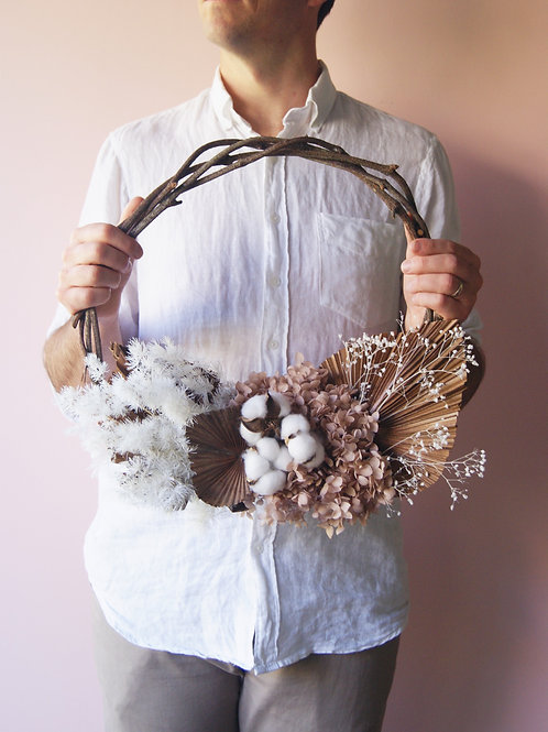 Everlasting Wreath | Cotton