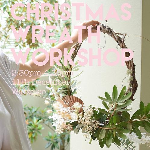 Wreath Workshop | Fri 11th December | 2.30pm - 4.30pm
