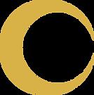 Sigle de l'Atelier AL représentant une lune. Logo des architectes d'intérieur Anaïs Bonjean et Lauriane Pot à Lyon.