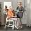 Thumbnail: כסא שירותים ורחצה דגם קלין CLEAN